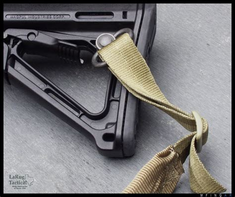 Magpul-Question How To Attach Sling To Magpul Stock.