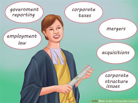 Commercial Lawyer Salary In Sa How To Be A Corporate Lawyer 15 Steps With Pictures