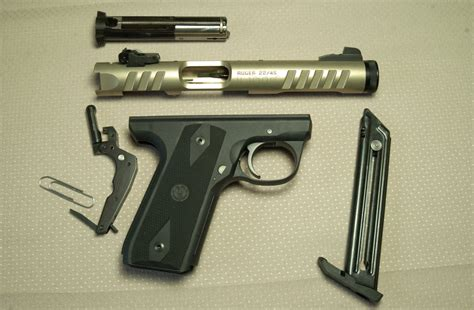 Ruger-Question How To Break Down A Ruger 22 55 Mark Iii.