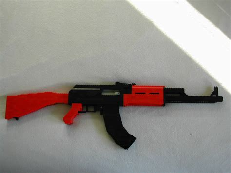 Ak-47-Question How To Build A Lego Ak 47 That Shoots.