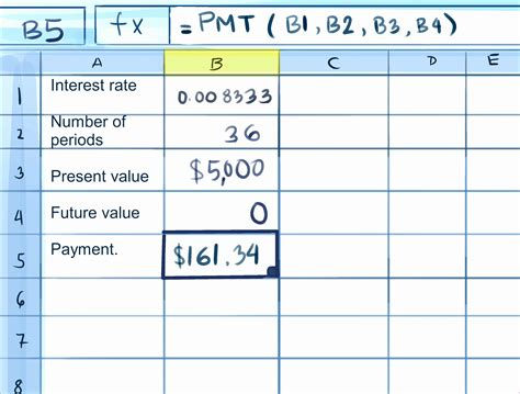 Credit Card Apr Formula Excel How To Calculate Credit Card Payments In Excel 10 Steps