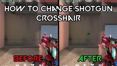 Shotgun-Question How To Change H1z1 Crosshair For Shotguns Only.