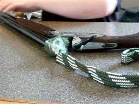 Shotgun-Question How To Clean A Shotgun With A Bore Snake.