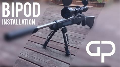 Gunkeyword How To Connect A Bipod To A Ruger 10 22.