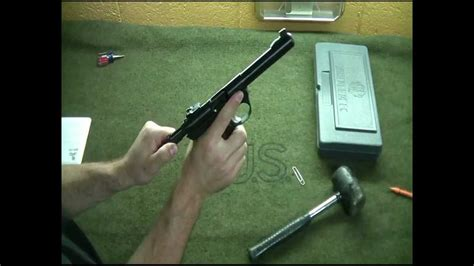 Ruger-Question How To Disassemble A Ruger Mark Iii 22 45.