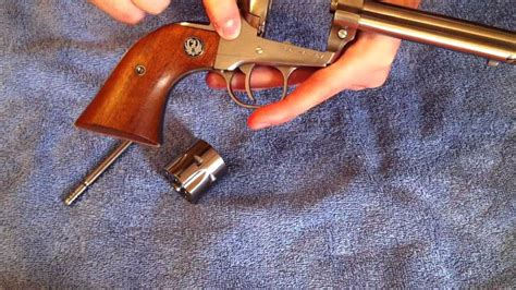 Ruger-Question How To Disassemble A Ruger Single Six.