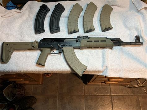 Magpul-Question How To Fit Magpull Stock Mak 90
