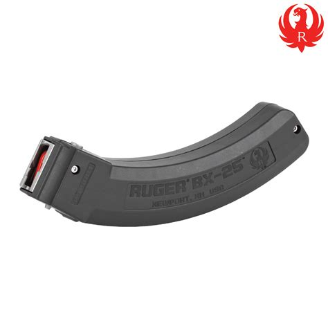 Ruger-Question How To Get At Ruger 25 Rounds Magazine.