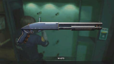 Shotgun-Question How To Get The Shotgun In Resident Evil Biohazard.