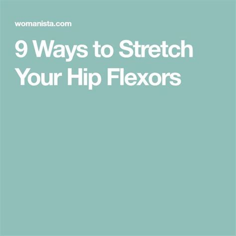 how to heal a hip flexor injury fastest production motorcycle