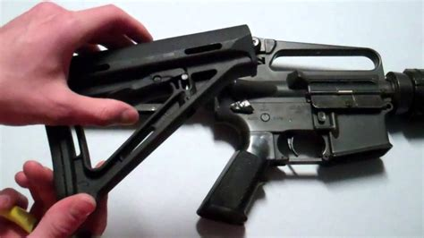 Magpul-Question How To Install Magpul Stock.