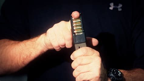 Glock-Question How To Load A Glock Magazine Without A Feeder.