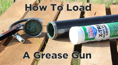 Gun How To Load A Grease Gun.