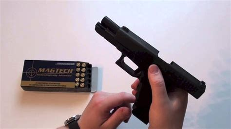 Glock-Question How To Load And Shoot A Glock 17.