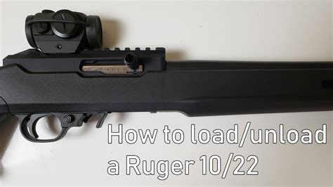 Ruger-Question How To Load And Shoot A Ruger 10/22