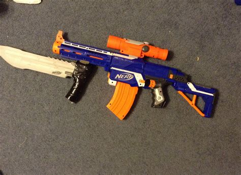 Gunkeyword How To Make A Ak 47 Nerf Gun.