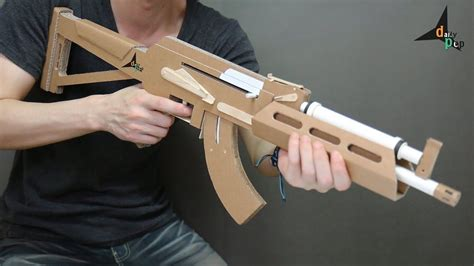 Gun-Shop How To Make A Ak 47 Paper Gun.