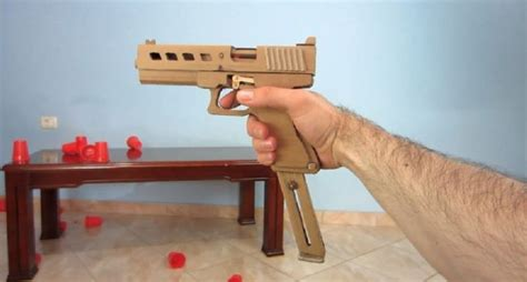 Glock-Question How To Make A Cardboard Glock That Shoots.