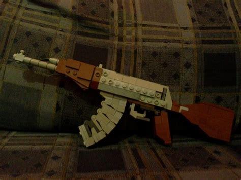 Ak-47-Question How To Make A Lego Ak 47 Life Size.