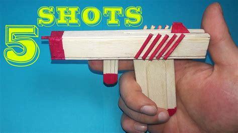 Gun How To Make A Rubber Band Gun.