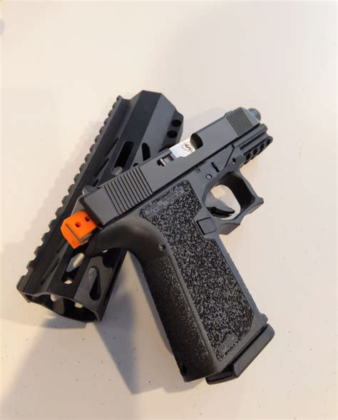Glock-Question How To Make Full Auto Glock 19.