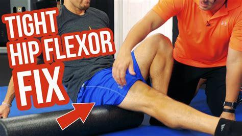 how to massage hip flexors