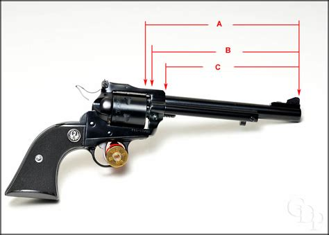Ruger-Question How To Measure Barrel Lenght On Ruger Single Action.