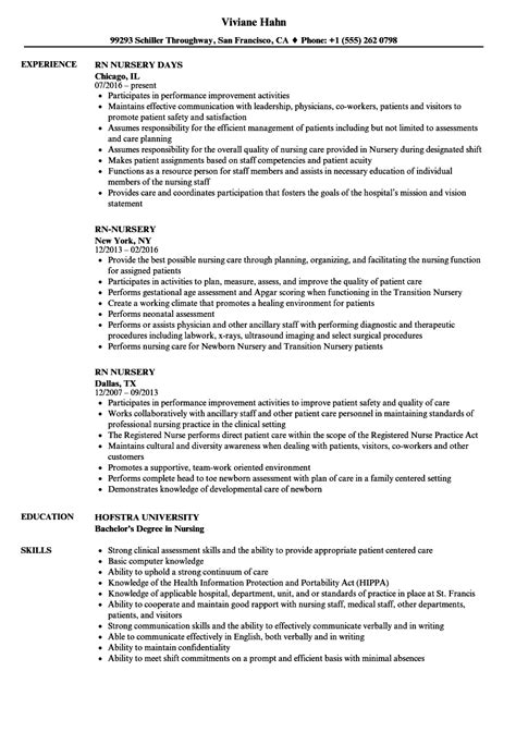 how to write a cv for nursery job how to make your resume look