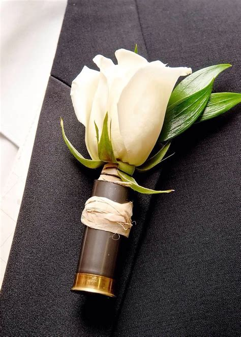 Shotgun-Question How To Pin A Shotgun Shell Boutonniere.