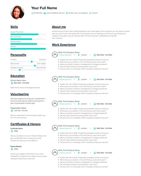 how to write personal details in resume preparing your resume career centre - How To Write A Personal Resume