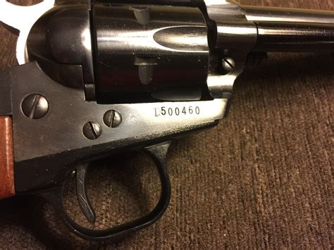 Ruger-Question How To Read Ruger Serial Numbers.
