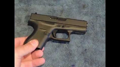 Glock-Question How To Reasmble A Glock 42.