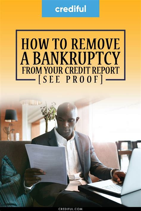 Chase Credit Card After Bankruptcy How To Remove A Bankruptcy From Your Credit Report