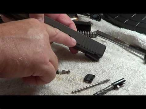 Glock-Question How To Remove Pin Glock.