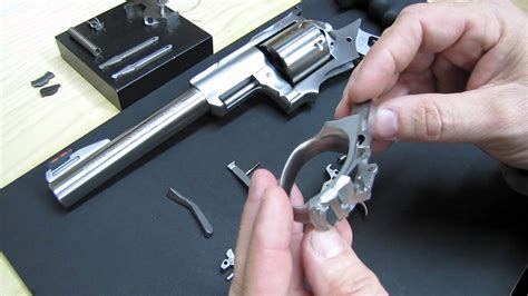 Ruger-Question How To Remove The Trigger From A Ruger Super Redhawk.