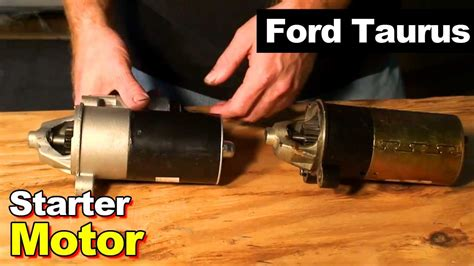 Taurus-Question How To Replace The Starter On A 2003 Ford Taurus.