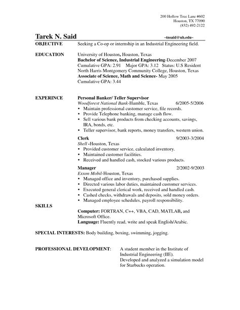 how to write a resume objective line resume objective banking resume objective - Objective For Bank Resume