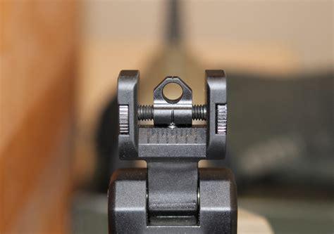Gunkeyword How To Sight Iron Sights On An Ar 15.