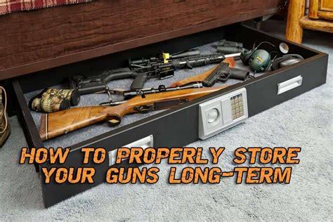 Gun-Store-Question How To Store A Gun Long Term.