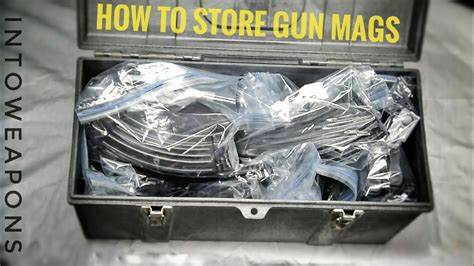 Gun-Store-Question How To Store Gun Magazines.