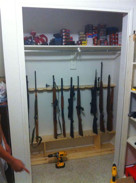 Gun-Store-Question How To Store Guns In Closet.