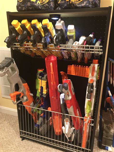 Gun-Store-Question How To Store Large Nerf Guns.