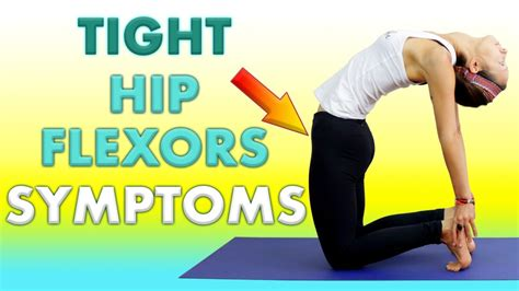 how to strengthen hip flexors yoga with adrienne youtube runners
