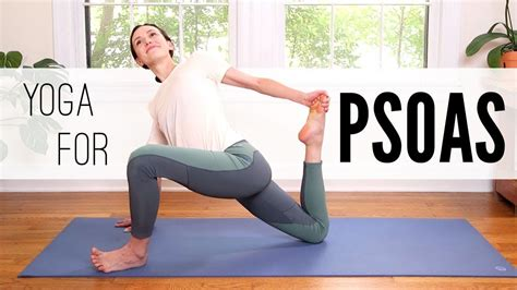 how to strengthen hip flexors yoga with adrienne youtube when you are sick