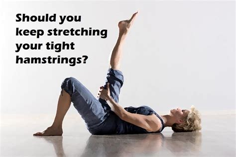 how to stretch chronically tight hamstrings