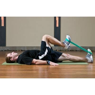 how to stretch hip flexor exercises with resistance band