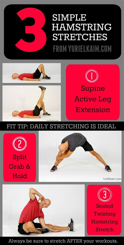 how to stretch out really tight hamstrings exercise