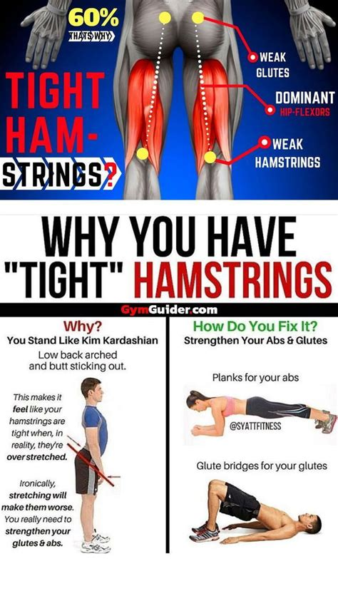 how to stretch tight hamstrings and glutes workout