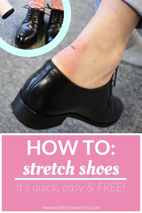 how to stretch tight shoes toes