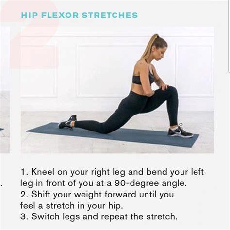 how to stretch your left hip flexor
